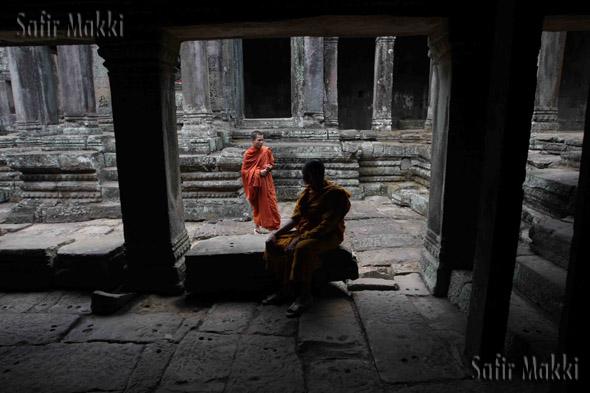 Angkor Thom, Provinsi Siemreap, Cambodia.