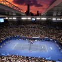 Australian Open, Cahaya dan Bayangan