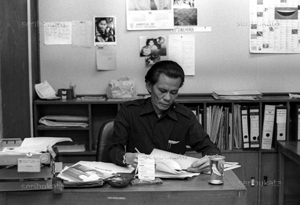 Ed Zoelverdi, di Jakarta, 1982. (TEMPO/ Ali Said)